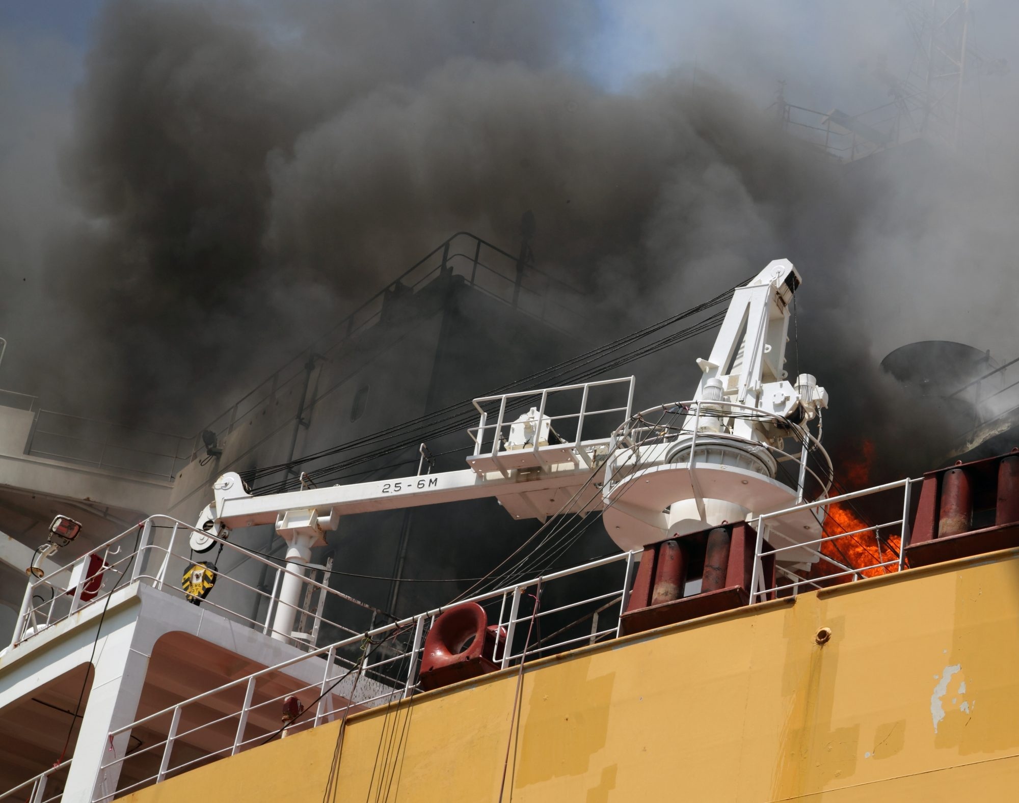 Ship Fires