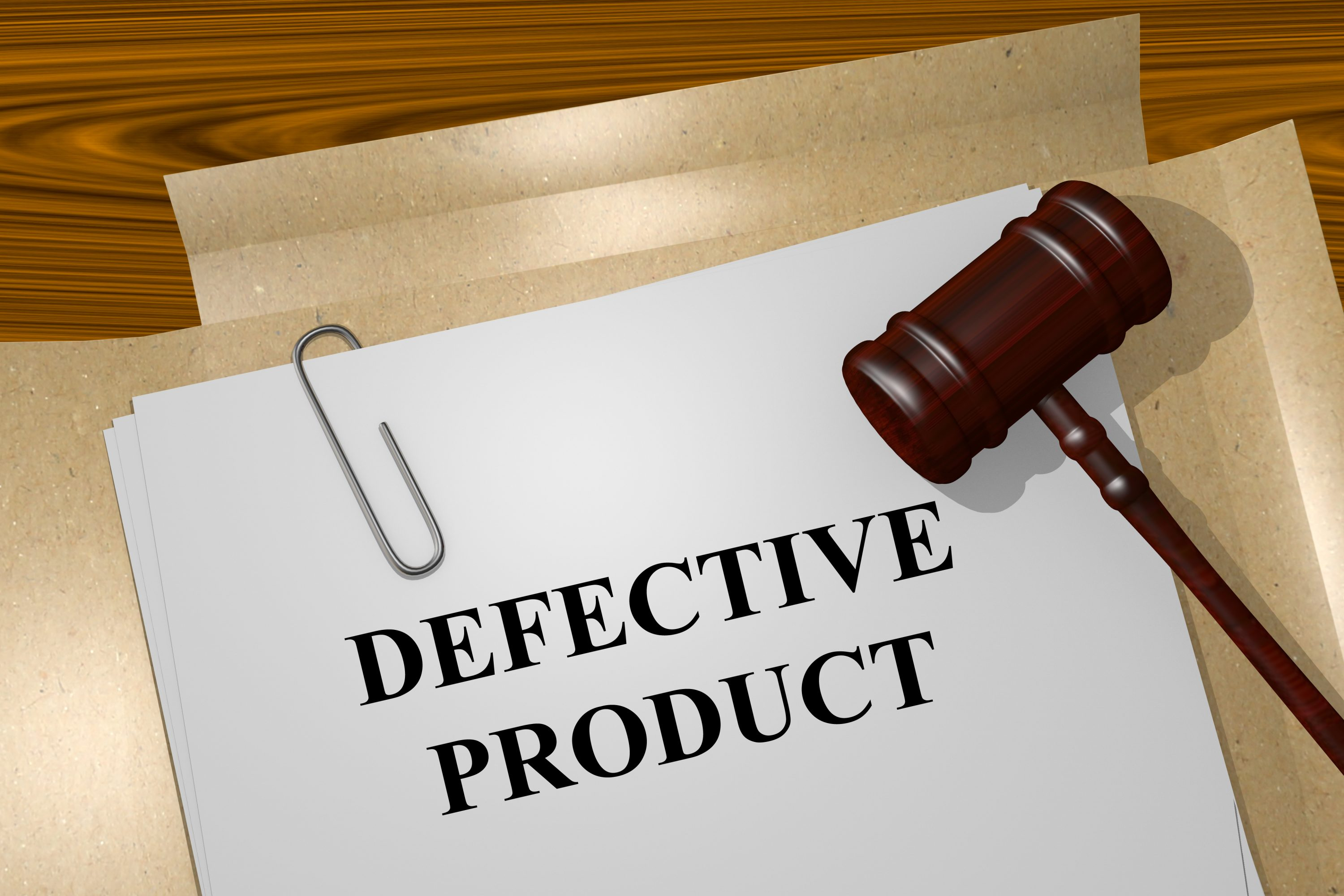 Defective Product Accidents