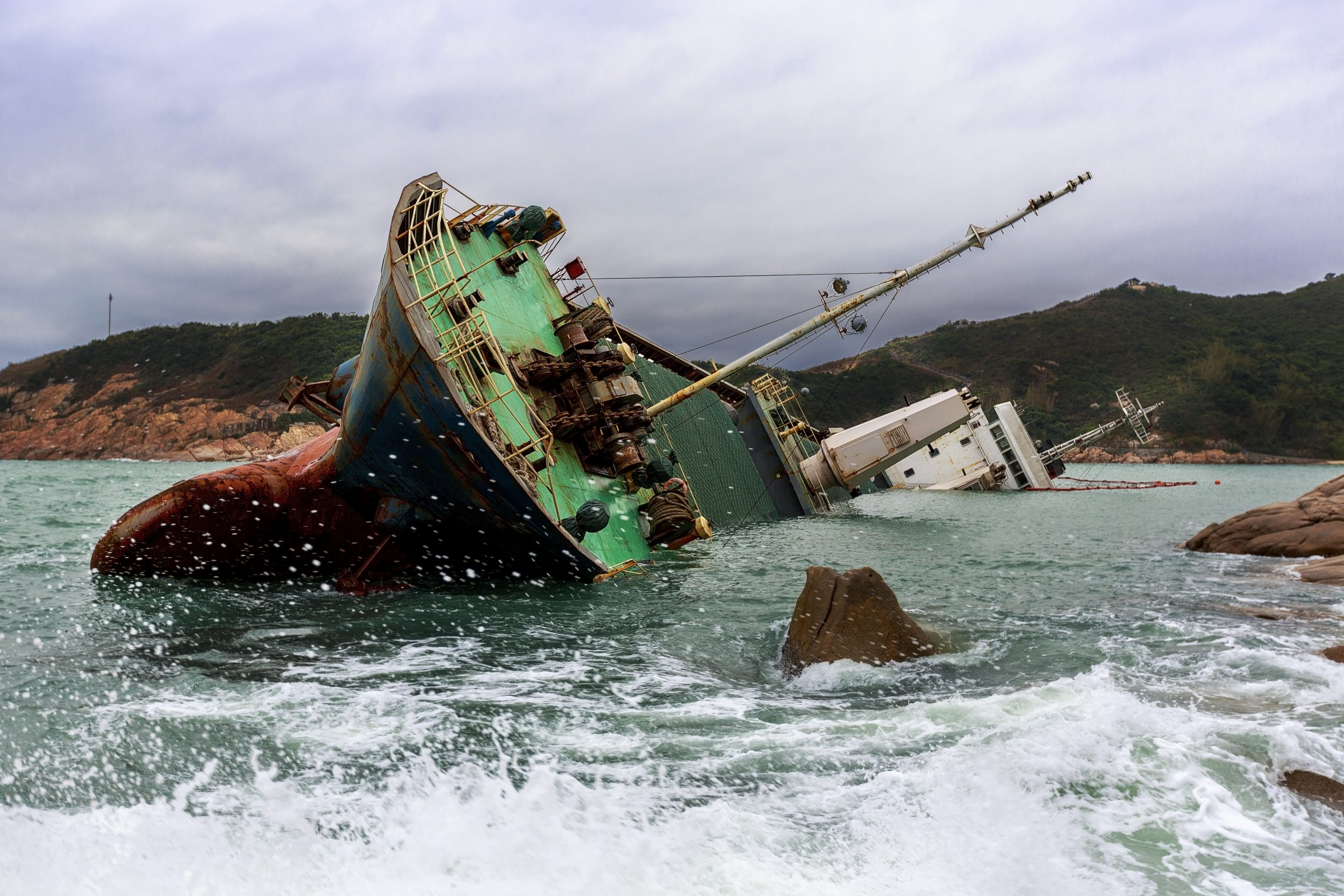 Vessel Capsizing and Sinking