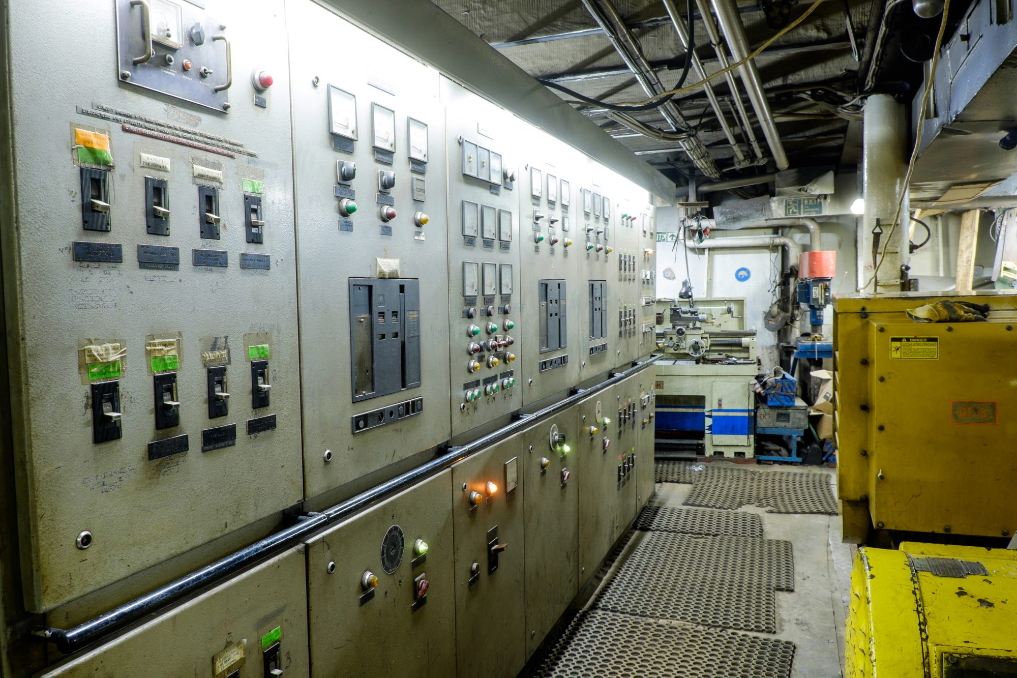 Maritime Electricians and Electrical Room Injuries